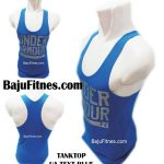 TANKTOP UA TEXT BLUE