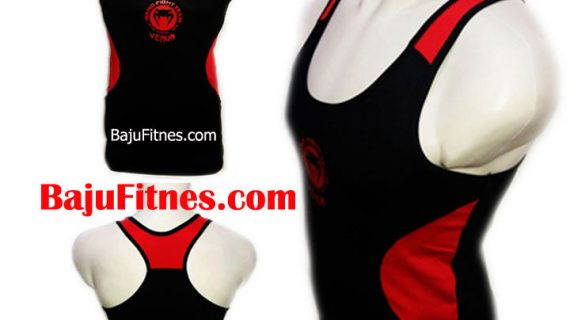 TANKTOP VENUM MMA BLACK IN RED DRY