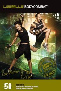 Dvd LesMills BodyCombat 58