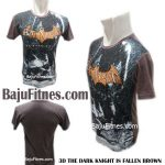 3D THE DARK KNIGHT IS FALLEN BROWN