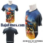 3D MUSCLE OF SUPERMAN DARK GREY