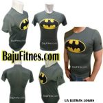 UA BATMAN LOGOS GREY YELLOW COMPRESSION