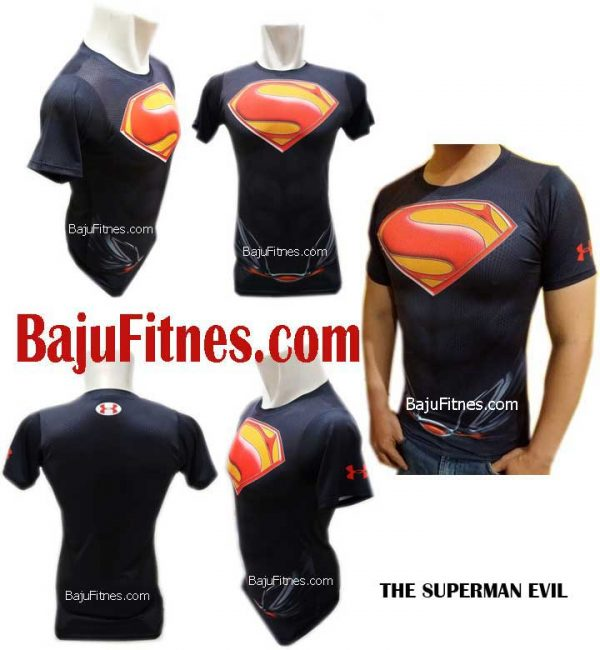 089506541896 Tri | Beli Shirt Fitness Compression Superman Pria