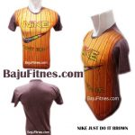 NIKE JUST DO IT BROWN