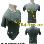 GOLD GYM GREEN MOSS COMPRESSION