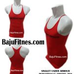 SINGLET UNDER ARMOUR PERFORMANCE APPAREL RED
