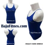 SINGLET UNDER ARMOUR PERFORMANCE APPAREL BLUE