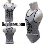 TANKTOP GOLD GYM COMPANY GREY BLACK