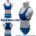 TANKTOP UA LINES LIST BLUE WHITE