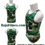 TANKTOP UA ARMY GREEN FOREST