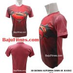 3D BATMAN SUPERMAN DAWN OF JUSTICE RED
