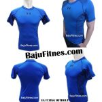 UA FLYING WITHOUT WINGS BLUE COMPRESSION