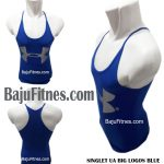 SINGLET UA BIG LOGOS BLUE