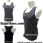 TANKTOP UA LOGOS LIST GREY BLACK