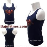 TANKTOP BATMAN SUPERMAN BLUE NAVY