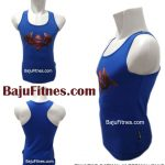 TANKTOP BATMAN SUPERMAN BLUE