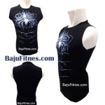 TANKTOP BLUE SPIDERMAN BLACK