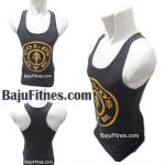 TANKTOP GOLD GYM PRO GREY YELLOW