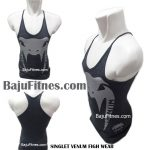 SINGLET VENUM FIGH WEAR DARK GREY SILVER