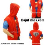 SUPERMAN ON JOGGING ROMPI RED