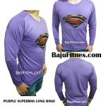 PURPLE SUPERMAN LONG HAND