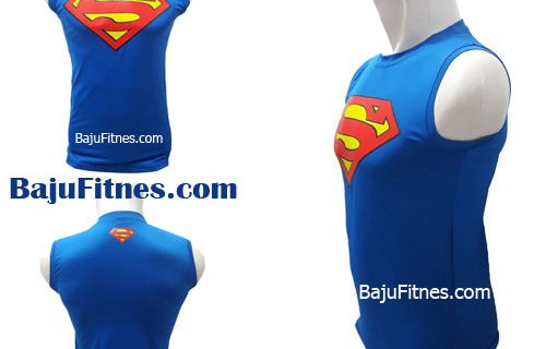 TANKTOP SUPERMAN LOGOS RED BLUE