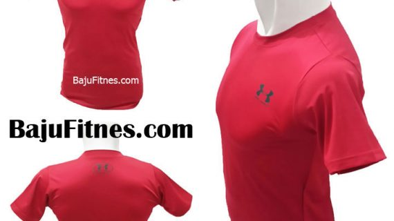 UA LEFT SIDE DARK RED BLACK COMPRESSION