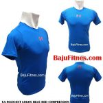 UA INNOCENT LOGOS BLUE RED COMPRESSION