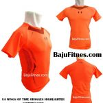 UA WINGS OF TIME ORANGES HIGHLIGHTER COMPRESSION