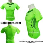UA WINGS OF TIME GREEN HIGHLIGHTER COMPRESSION