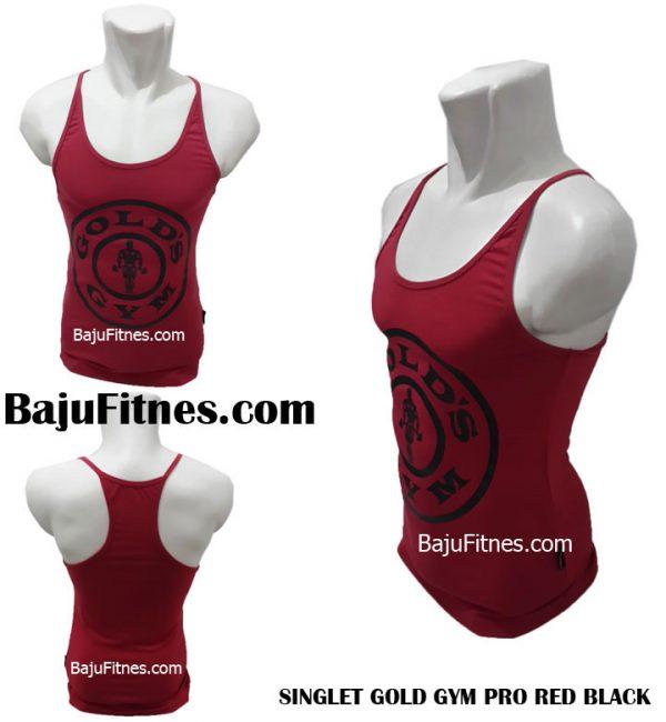 089506541896 Tri | Distributor Singlet Fitnes Golds Gym Pria