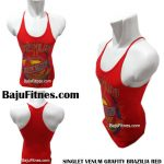 SINGLET VENUM GRAFITY BRAZILIA RED