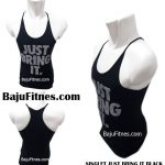 SINGLET JUST BRING IT BLACK