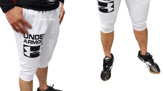 JOGER SHORT UNDER ARMOUR ID WHITE