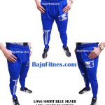LONG SHORT BLUE SILVER LETS SPORT TOGETHER