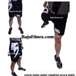 VENUM TAEBO SHORT CHAMPION BLACK WHITE
