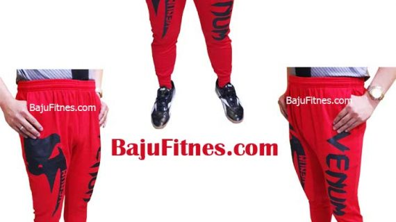 LONG SHORT VENUM MIXED MARTIAL ARTS RED BLACK