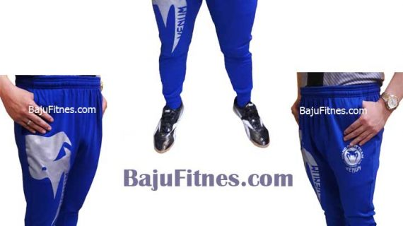LONG SHORT VENUM MIXED MARTIAL ARTS BLUE SILVER