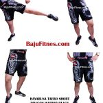 HAYABUSA TAEBO SHORT DRAGON WARIOR BLACK