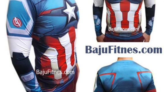CAPTAIN AMERICA BIG STAR LONG HAND COSTUME