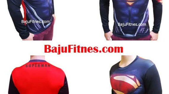 SUPERMAN EVIL BLACK LONG HAND COSTUME