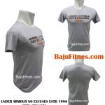 UNDER ARMOUR NO EXCUSES ESTD 1996 GREY ORANGES