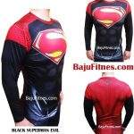 BLACK SUPERMAN EVIL LONG HAND COMPRESSION