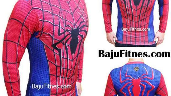 SPIDERMAN RED BLUE LONG HAND COMPRESSION