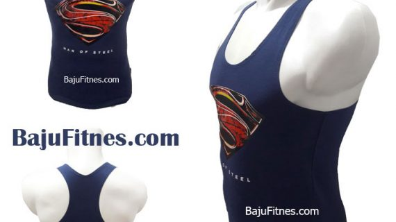 TANKTOP MAN OF STEEL NAVY BLUE