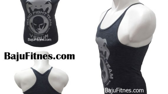 SINGLET VENUM WAND FIGH TEAM DARK GREY SILVER