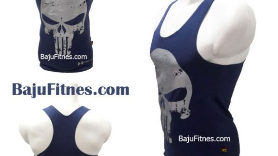 TANKTOP UA THE PUNISHER NAVY BLUE