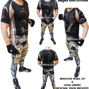 089506541896 Tri   Distributor Shirt Olahraga Compression Pria