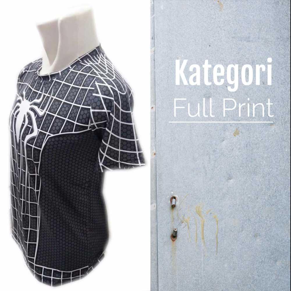 Kaos FItnes Full Print