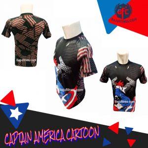 089506541896 Tri | Tanktop Gym Captain America Pria Di Jakarta